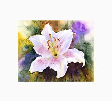 """Lily """"Muscadet"""" (Lilium Orientalis Muscadet) Womens Fitted T-Shirt"""