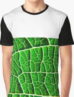 Green Leaf Graphic T-Shirt
