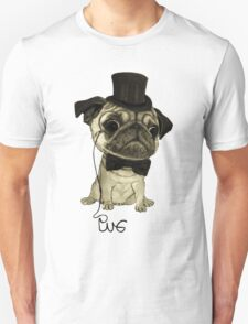 Pug; gentle pug. Unisex T-Shirt