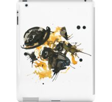 Pug With A Bowler Hat iPad Case/Skin