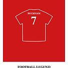 David Beckham - Football Legend by springwoodbooks