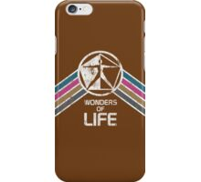 Vintage Distressed Wonders of Life Logo from EPCOT Center iPhone Case/Skin