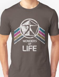 Vintage Distressed Wonders of Life Logo from EPCOT Center T-Shirt