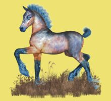 Foal with a spring in his step Baby Tee