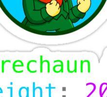Leprechaun CSS Sticker