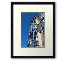 high rise building Framed Print