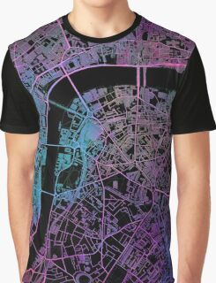 London city map Graphic T-Shirt