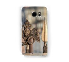 fence with double eagle guard Samsung Galaxy Case/Skin