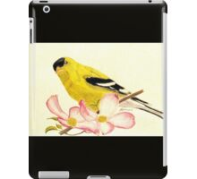 Goldfinch Spring iPad Case/Skin