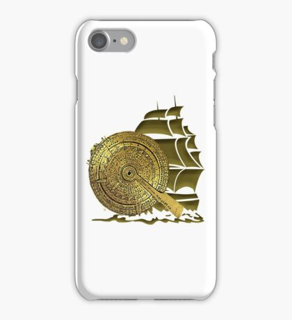 A Nocturnal Voyage At Sea iPhone Case/Skin