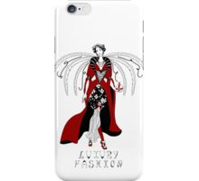 Beautiful woman with wings iPhone Case/Skin