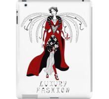 Beautiful woman with wings iPad Case/Skin