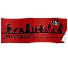 Mordor Air Poster