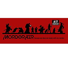 Mordor Air Photographic Print