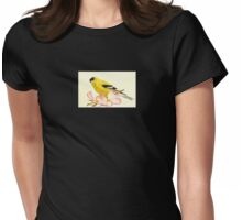 Goldfinch Spring Womens Fitted T-Shirt