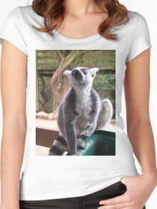 Please, Sir, Can I have some more? Women's Fitted Scoop T-Shirt