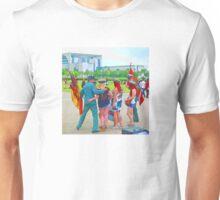 BERLIN-Fun, Uniformed guys make fun with tourists Unisex T-Shirt