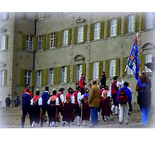 Einsiedeln Gathering Photographic Print