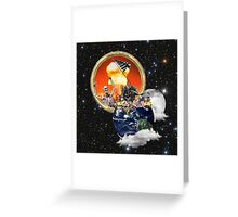 Destruction of Humanity Greeting Card