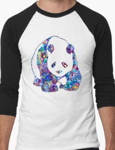 Playful Panda Men's Baseball ¾ T-Shirt