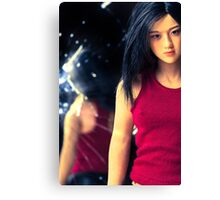 Futuristic Female is she real or a Robot Canvas Print