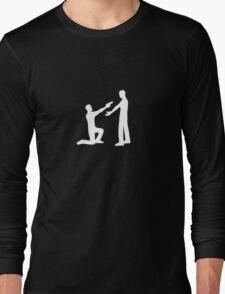 Violence is Weakness (w) Long Sleeve T-Shirt