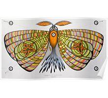 circus moth Poster