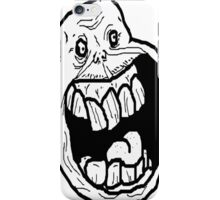 trolls face iPhone Case/Skin