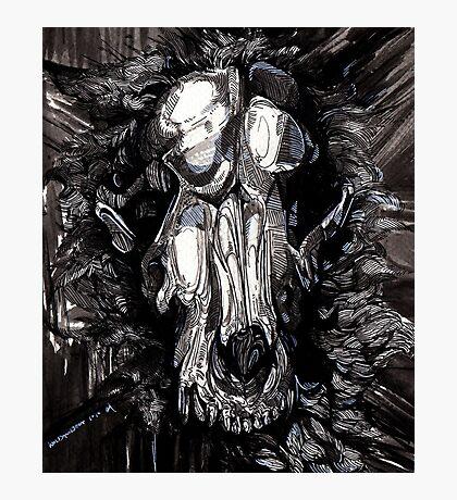 Wolf Skull Jack Photographic Print