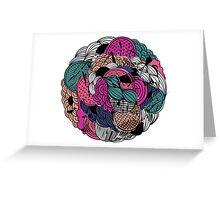Flower Ball Greeting Card