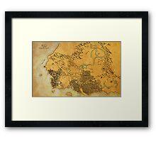 The Kingdom of Hyrule Framed Print