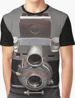 Antique Camera Graphic T-Shirt