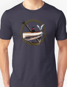 Making Friends At Sea Unisex T-Shirt