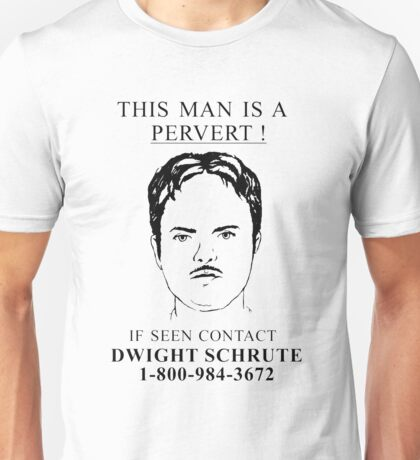 This Man is a Pervert Unisex T-Shirt