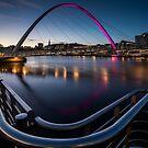 The Millennium Bridge Gateshead by Dave Hudspeth
