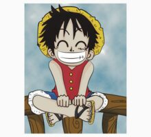 Luffy smile One Piece - Short Sleeve