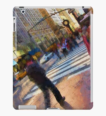 Colorful NYC Street Scene iPad Case/Skin