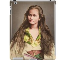 Vintage Woman from the Philipines iPad Case/Skin