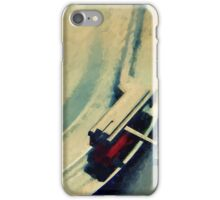 Spinning Vinyl Record Painting iPhone Case/Skin