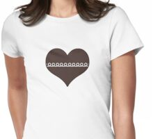 MJ Cupcake Womens Fitted T-Shirt