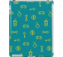 Old school arcade pattern iPad Case/Skin