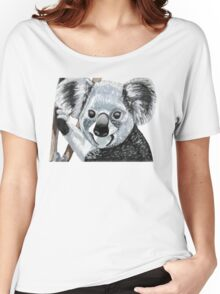 Happy Koala Smiles Women's Relaxed Fit T-Shirt