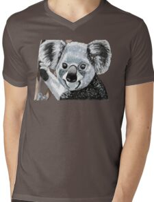 Happy Koala Smiles Mens V-Neck T-Shirt