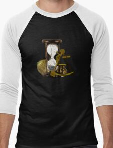 Calculating Time And Direction At Sea  Men's Baseball ¾ T-Shirt