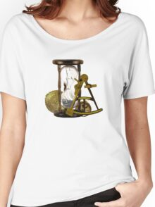 Calculating Time And Direction At Sea  Women's Relaxed Fit T-Shirt