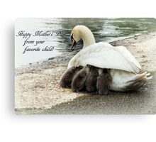 Mother's warm Canvas Print