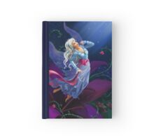 The night fairy flying to the moon Hardcover Journal