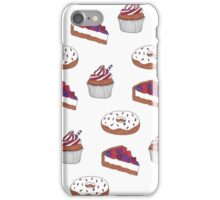 Pastries Colored Pattern Design iPhone Case/Skin