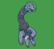 Astro Brachiosaurus One Piece - Short Sleeve
