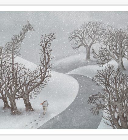 The Night Gardener - Winter Park Sticker